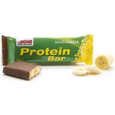 High5 Protein Bar 50g - regenerative bar (Vanille-Banane)