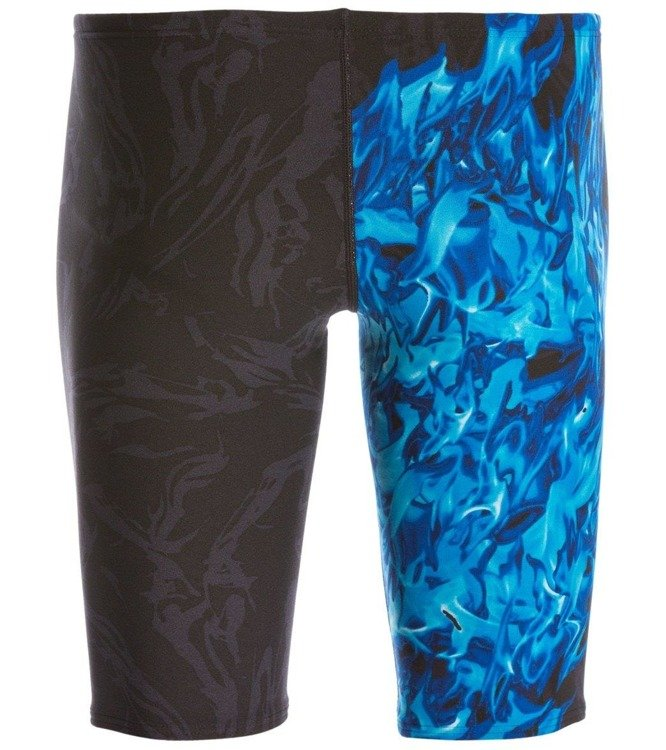 Tyr Ignis All Over Jammer - Herren Trainingshose (schwarz und blau)